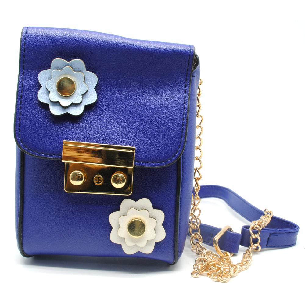 Yang Mi Tas Selempang Mini Wanita - Blue - JakartaNotebook.com