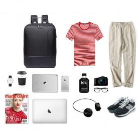 Boss BOPAI Tas Ransel Laptop Profesional - 5971830 - Black - 11