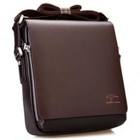 Messenger Bag / Tas Selempang - Kangaroo Kingdom Tas Selempang Pria - Brown