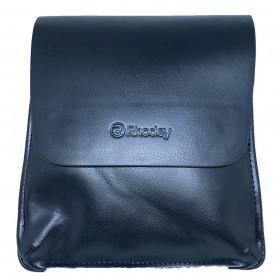 Rhodey Polo Crossbody Tas Selempang Messenger Bag Bahan Kulit Pria - PI576-1 - Black - 2