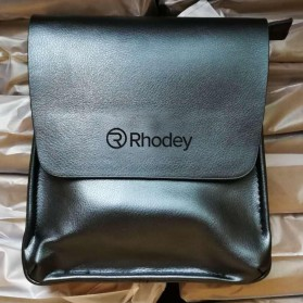 Rhodey Polo Crossbody Tas Selempang Messenger Bag Bahan Kulit Pria - PI576-1 - Brown - 2
