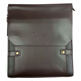 Rhodey Trunk Tas Selempang Pria Messenger Bag Vertical - 39503 - Dark Brown