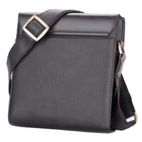 Rhodey Trunk Tas Selempang Pria Messenger Bag Vertical - 39503 - Dark Brown - 5
