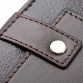 Rhodey Trunk Tas Selempang Pria Messenger Bag Vertical - 39503 - Dark Brown - 7