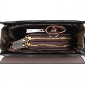 Trunk Tas Selempang Pria Messenger Bag Horizontal - 39503 - Dark Brown - 4
