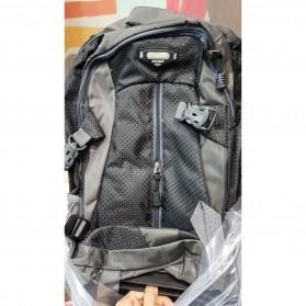 Tas Ransel Travel dengan Trolley - Black - 2