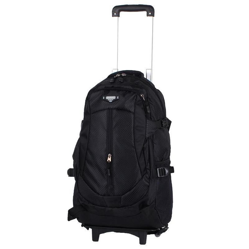 Tas Ransel Travel dengan Trolley - Black - JakartaNotebook.com 87eb0f082c