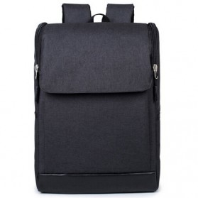 Pluiesoleil Tas Ransel Laptop Minimalis - Black