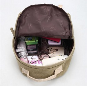 Tas Ransel Backpack Student - Red - 3