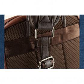 Rhodey Tas Selempang Crossbody Bag Bahan Kulit - K7713 - Dark Brown - 10