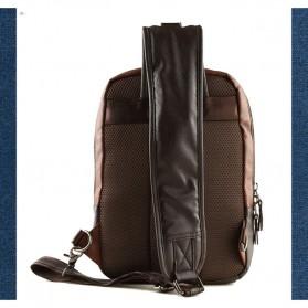 Rhodey Tas Selempang Crossbody Bag Bahan Kulit - K7713 - Navy Blue - 10