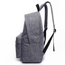 JINGPIN Gufflice Tas Ransel Laptop Backpack - T-B3143 - Gray - 4