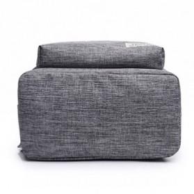 JINGPIN Gufflice Tas Ransel Laptop Backpack - T-B3143 - Gray - 5