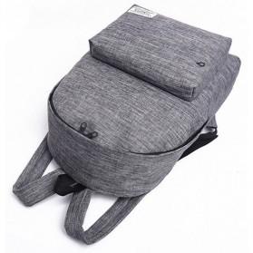 JINGPIN Gufflice Tas Ransel Laptop Backpack - T-B3143 - Gray - 6