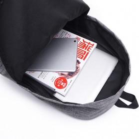 JINGPIN Gufflice Tas Ransel Laptop Backpack - T-B3143 - Gray - 8