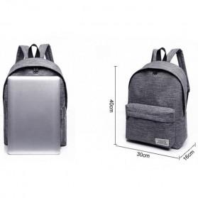 JINGPIN Gufflice Tas Ransel Laptop Backpack - T-B3143 - Gray - 10