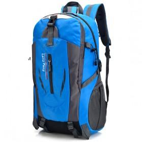 Tas Ransel Backpack Travelling 40L - Blue