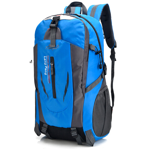 ... Tas Ransel Backpack Travelling 40L - Blue - 1 ...