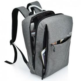 DXYIZU Tas Ransel Laptop dengan USB Charger - Space Gray - 6