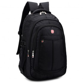 Tas Ransel Laptop Quality Nylon - Black