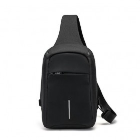 Tas Selempang Kasual Unbalance Fashion - Black