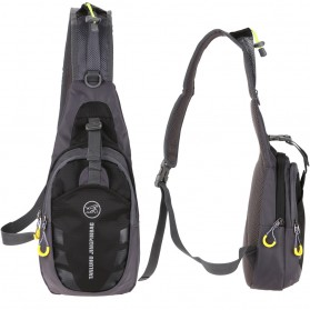 Tanluhu Jingpinbag Tas Selempang Crossbody Bag Waterproof - SR325 - Black