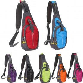 Tanluhu Jingpinbag Tas Selempang Crossbody Bag Waterproof - SR325 - Black - 2