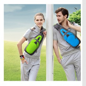 Tanluhu Jingpinbag Tas Selempang Crossbody Bag Waterproof - SR325 - Black - 3