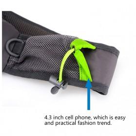 Tanluhu Jingpinbag Tas Selempang Crossbody Bag Waterproof - SR325 - Black - 5
