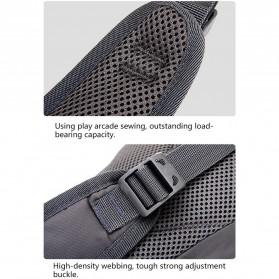 Tanluhu Jingpinbag Tas Selempang Crossbody Bag Waterproof - SR325 - Black - 7