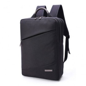 Tas Ransel Laptop Korean Style Fit To 15.6 Inch - Black