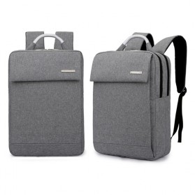 Tas Ransel Laptop Business Style Fit To 15 Inch - Gray