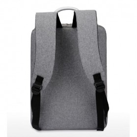 SHJLU Tas Ransel Laptop Business Style Fit To 15 Inch - ZHD-0219 - Gray - 2