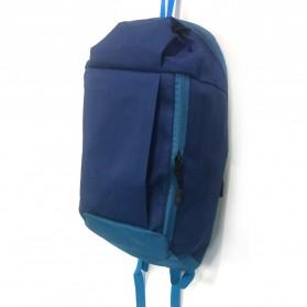 Tas Ransel Backpack Travel - Dark Blue - 2