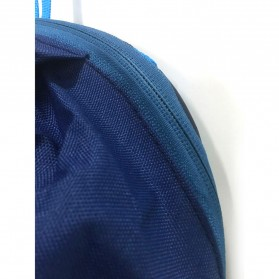 Tas Ransel Backpack Travel - Dark Blue - 5