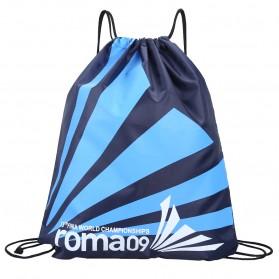 Tas Ransel Serut Drawstring Model Sport - Roma09 - Blue