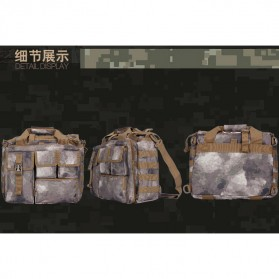 Tas Selempang Pria Army Oblique - Black - 6