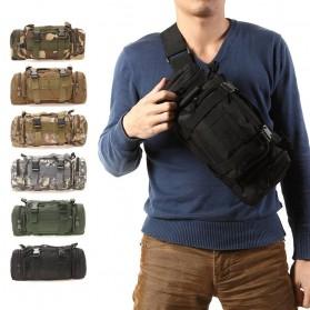IMOK Tas Selempang Pria Army Sling Bag 6L - BL015 - Cream - 2