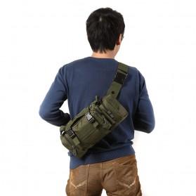 IMOK Tas Selempang Pria Army Sling Bag 6L - BL015 - Cream - 3