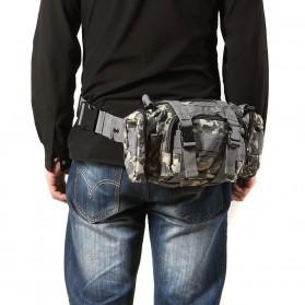IMOK Tas Selempang Pria Army Sling Bag 6L - BL015 - Cream - 4
