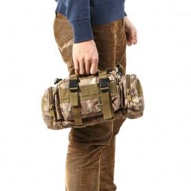IMOK Tas Selempang Pria Army Sling Bag 6L - BL015 - Cream - 6