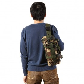IMOK Tas Selempang Pria Army Sling Bag 6L - BL015 - Cream - 7