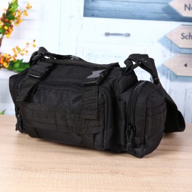 IMOK Tas Selempang Pria Army Sling Bag 6L - BL015 - Cream - 8