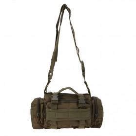 IMOK Tas Selempang Pria Army Sling Bag 6L - BL015 - Cream - 9