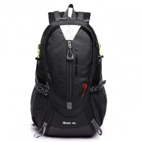 Tas Ransel Gunung Hiking Waterproof 40L - FHJ3809 - Black