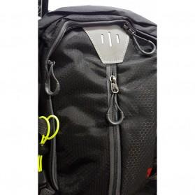 Tas Ransel Gunung Hiking Waterproof 40L - FHJ3809 - Black - 2