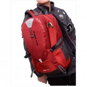 Tas Ransel Gunung Hiking Waterproof 40L - FHJ3809 - Black - 3