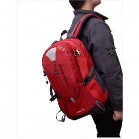 Tas Ransel Gunung Hiking Waterproof 40L - FHJ3809 - Black - 5