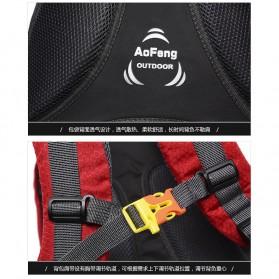 Tas Ransel Gunung Hiking Waterproof 40L - FHJ3809 - Black - 11