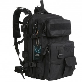 KENDOME Tas Ransel Army Tactical Pria 40L - 068 - Black